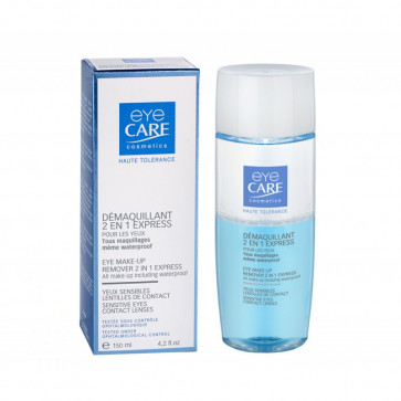 Démaquillant 2 en 1 express 150 ml - Eye Care