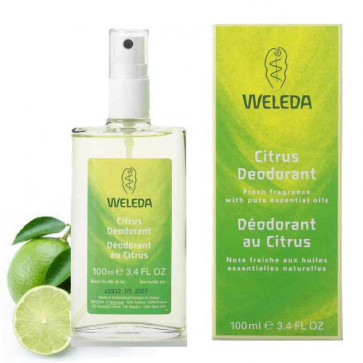 Déodorant Weleda au citrus