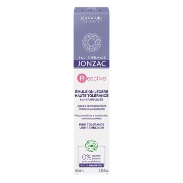 REactive Crème riche haute tolérance - Eau thermale de Jonzac