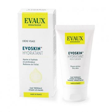 Evoskin hydratant - Crème visage de jour - 50 ml - Laboratoires Evaux