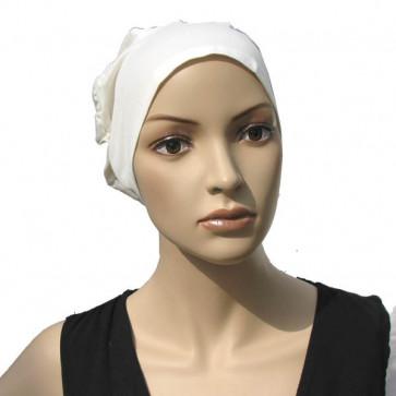 Bonnet Charmille en coton bio ivoire