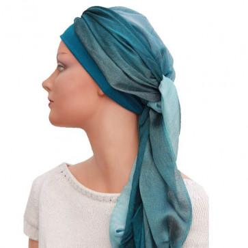 Foulard Fusion turquoise