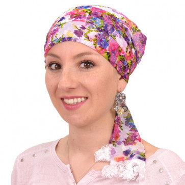 Foulard préformé Violetta - Miroir