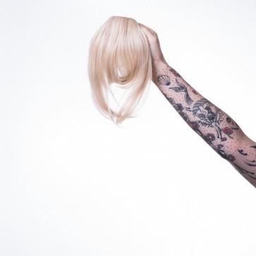 Frange raide Marylin - Les Franjynes - Blond Platine  - LPP 1296971