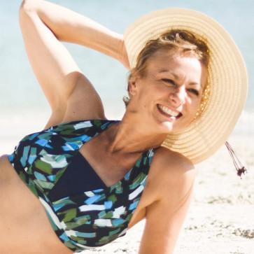 Haut de maillot de bain triangle pour prothèse mammaire - Cache Cache - Garance Paris