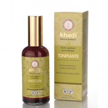 Huile capillaire Ayurvédique Tonifiante - Khadi