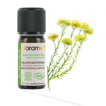 Huile Essentielle Bio Hélichryse Bractéiferum FLORAME - 10 ml