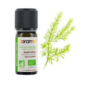 Huile Essentielle Bio Romarin cinéole FLORAME - 10 ml