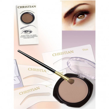 Kit maquillage semi permanent pour sourcils + pochette OFFERTE - Christian Cosmetics