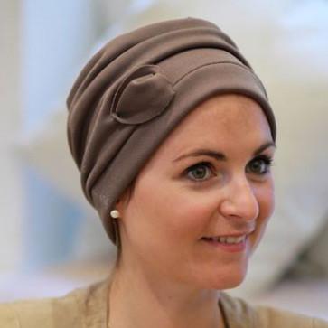 Turban Maya Marron - Look Hat Me