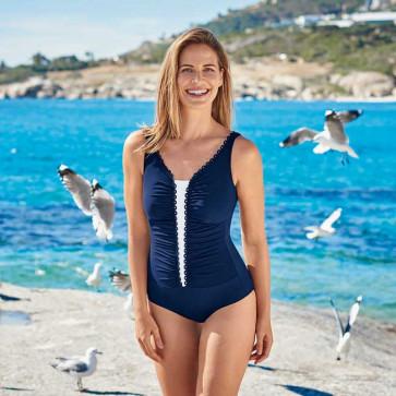 Maillot de bain pour prothèse mammaire Florinia bleu 6307 - Anita Care