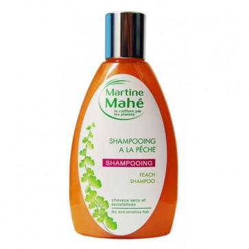 Shampoing à la pêche pour cheveux secs et sensibles - 200ml - Martine Mahé