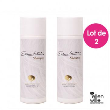 Pack 2 shampoings pour perruque synthétique - Ellen Wille