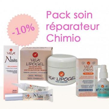 Pack soin réparateur Chimio - 1 Lipogel 1 Oris 1 Nail - Laboratoires VEA