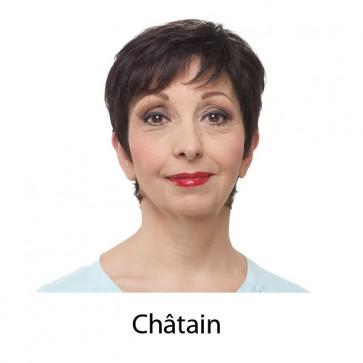 Perruque LINA - Châtain - MM Paris