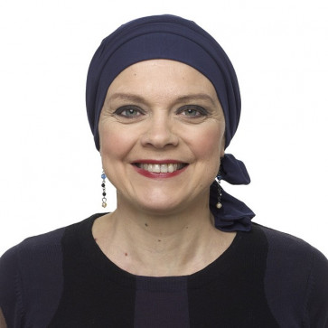 Turban PIPA - Bleu Marine - MM Paris