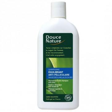 Shampoing anti-pelliculaire à la sauge BIO 300 ml - Douce Nature