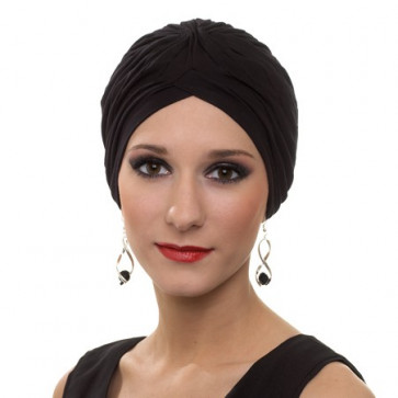 Turban BARBARA - Noir - MM Paris