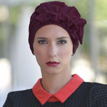 Turban Océane prune - MM Paris