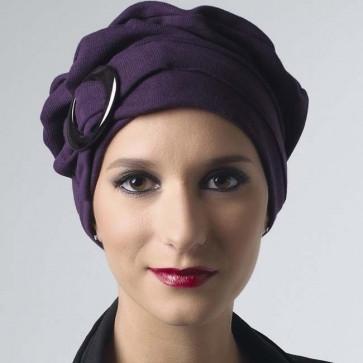 Turban chimio Jules violet - MM Paris