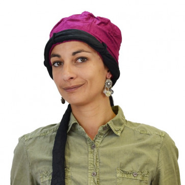 Turban Louise Prune Noir - MTM