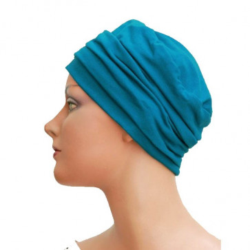 Turban Noa bleu  - Look Hat Me