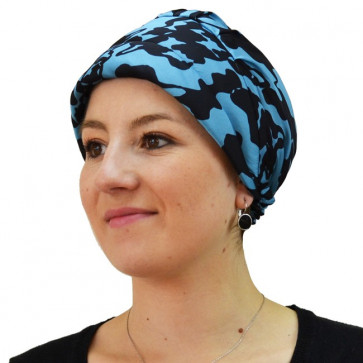 Turban PATCH MAKY - Bleu
