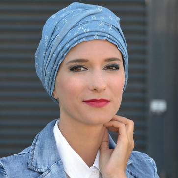 Turban Diana Denim - MM Paris