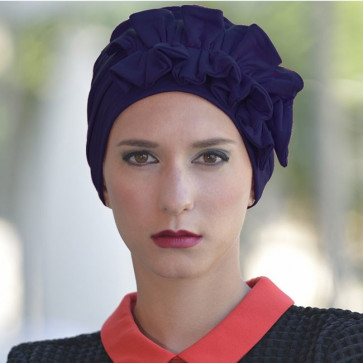 Turban Océane marine - MM Paris