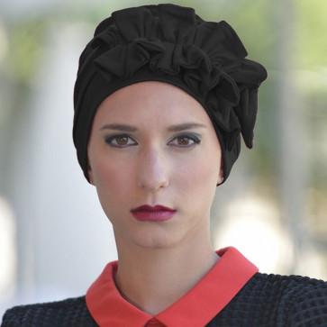 Turban Océane noir - MM Paris