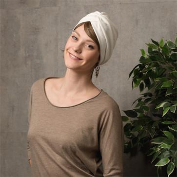 Turban Venus blanc - Comptoir de Vie
