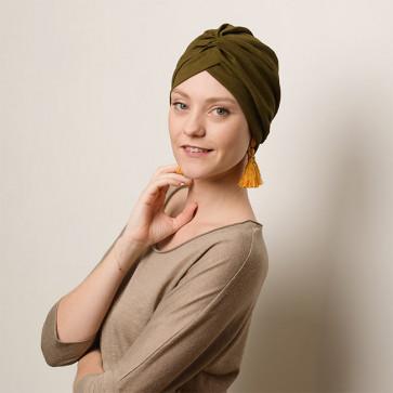 Turban Venus Kaki - Comptoir de Vie