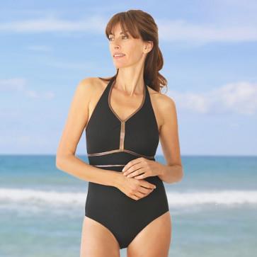 Maillot de bain deux pièces pour prothèse mammaire - Victoria - Marli Paris