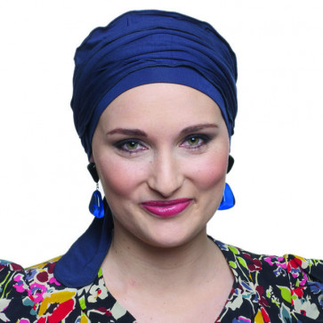 Turban VICTORY - Bleu Marine - MM Paris