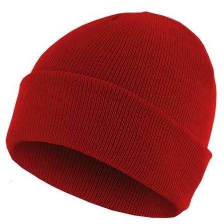 bonnet homme rouge