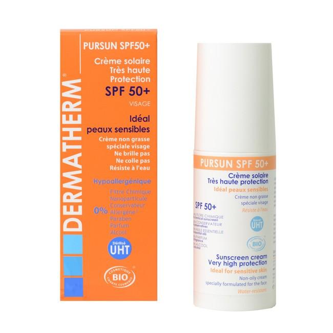 d5ed0e94b9021b Crème solaire très haute protection - Pursun SPF50+ - DERMATHERM. Zoom