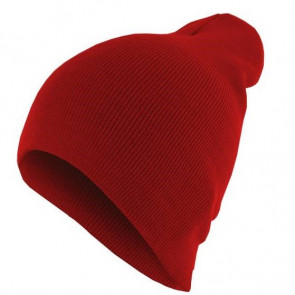 Bonnet homme Basic Flap - Rouge - Masterdis