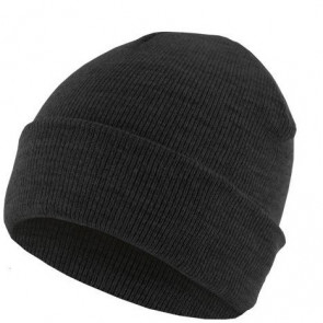 Bonnet homme Basic Flap - Charcoal - Masterdis