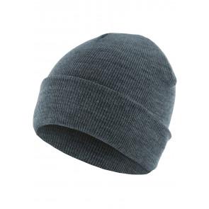 Bonnet homme Basic Flap - Indigo - Masterdis