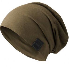Bonnet Jersey sans couture pour homme - Kaki