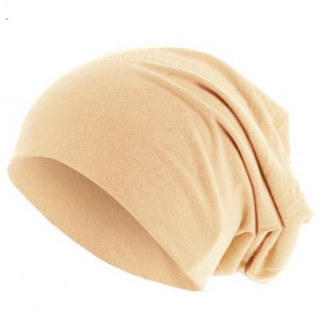 Bonnet sans couture - pêche