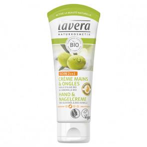 Crème mains & ongles huile d'olive et camomille bio - 75ml - Lavera