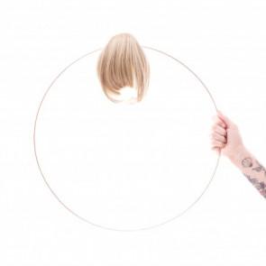 Frange courte ALEX Brooks - Les Franjynes - Blond méché châtain - LPP 1296971