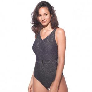 Maillot de bain une pièce pour prothèse mammaire - Ava Bleu - Marli Paris
