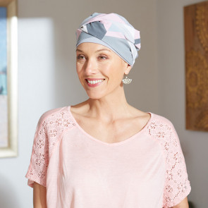 Turban pour femme Austin gris - Comptoir de Vie