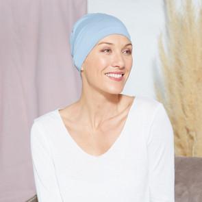Bonnet de nuit Oslo bleu clair - Comptoir de Vie