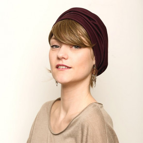 Turban Maya Bordeaux - Look at Me