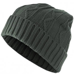 Bonnet chaud Homme Cable - Gris - Masterdis