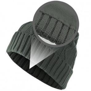 Bonnet chaud Homme Cable - Gris foncé- Masterdis