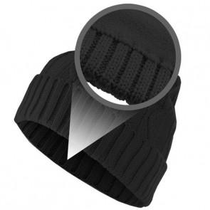 Bonnet chaud Homme Cable - Noir - Masterdis
